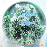 花园玻璃球玻璃花园球