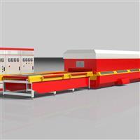 供应玻璃设备-GX-LX系列连续型平钢化玻璃生产线/钢化炉