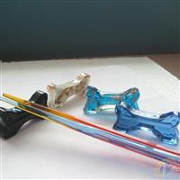 玻璃筷子架  玻璃工艺品