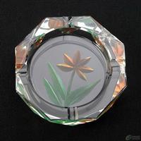 水晶烟灰缸生产厂家彩色烟灰缸定制