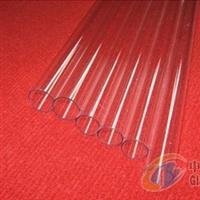 供给各类规格透明石英玻璃管