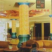 热熔玻璃 酒店、夜场大堂装饰柱