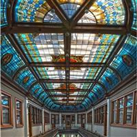 彩绘穹顶玻璃