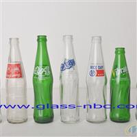 印花玻璃饮料瓶