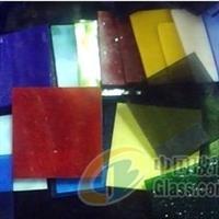 销售优质彩色玻璃片