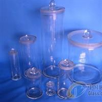 玻璃磨砂口圆形标本瓶
