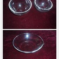 上海璐晶供应各种规格石英蒸发皿