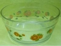 烤花玻璃碗