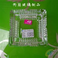 正方形透明玻璃 烟缸 实用