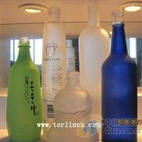 酒瓶公用玻璃蒙砂粉