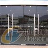 杭州钢化玻璃门安装维修更换拉手