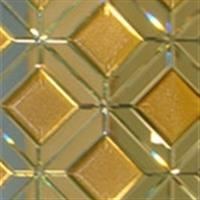 8厘银镜+金色陶瓷砖