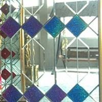 6厘超白镜+彩色玻璃