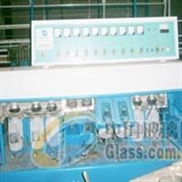 出售9磨头8成新玻璃磨边机