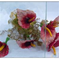 水纹压花玻璃