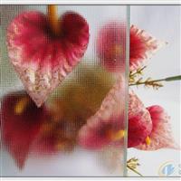 3-8mm布纹压花玻璃