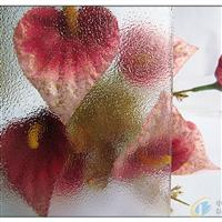 透明香梨压花玻璃