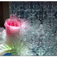 海棠壓花玻璃
