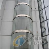 武汉电梯玻璃、弯弧玻璃