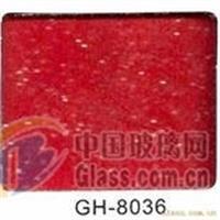 供应红色聚晶烤漆玻璃