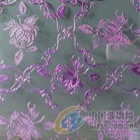 上海厂家供给凹蒙双彩玻璃