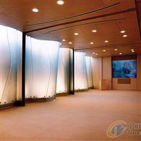 地标建筑物热弯玻璃