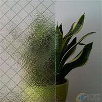 银霞菱形-夹丝玻璃-防火玻璃