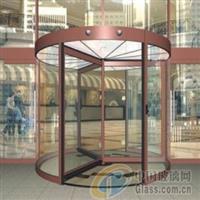 玻璃旋转门产品图片 生产厂家