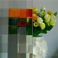 惠州壓花玻璃-雙面方格