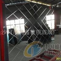 厂价供应5MM菱形格镜子