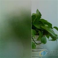 香港压花玻璃-超白布纹