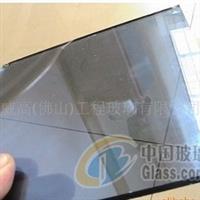 供应彩色玻璃8mm灰色钢化玻璃