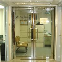 广州天河防火玻璃门订做安装维修