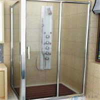 厂家订做淋浴房钢化玻璃  淋浴房尺寸