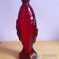 鱼形玻璃瓶,饮料瓶