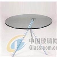 厂家批发钢化玻璃桌面 圆转盘
