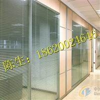 东莞办公室玻璃加百叶隔断
