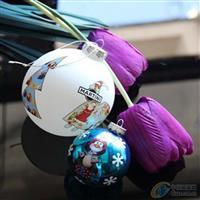 玻璃圣诞球 玻璃球 圣诞球