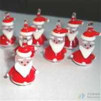 玻璃圣诞老人 圣诞老人 2.5cm