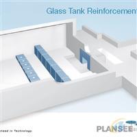 PLANSEE 攀时 玻璃窑炉 流液洞 钼保护罩