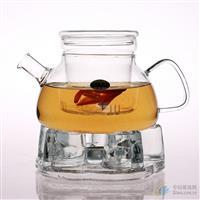 手工吹制高硼硅玻璃茶壶 咖啡壶 欧风壶