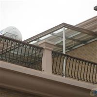 广州不锈钢玻璃遮雨棚安装订做