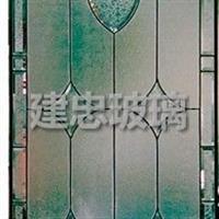 中空铁艺及电镀镶嵌玻璃