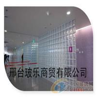 直透纹空心玻璃砖/蒙砂纹玻璃砖