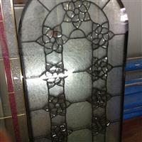 黑条镶嵌玻璃