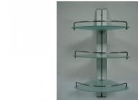 杭州采购-可调节浴室架玻璃架