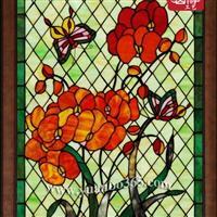 古典彩绘教堂玻璃,彩绘玻璃