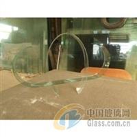 供應兩頭半圓形熱彎玻璃