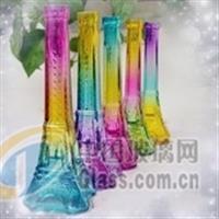 提供各种玻璃工艺品桃心瓶熊猫瓶