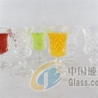 玻璃高脚洋酒杯